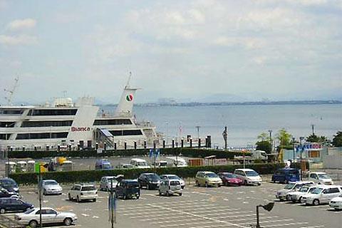 大津のたなごの差し込み写真(琵琶湖)